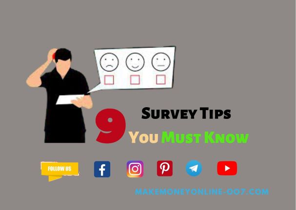 Survey tips and tricks